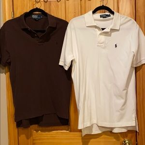 (2) Polo by Ralph Lauren polo shirts